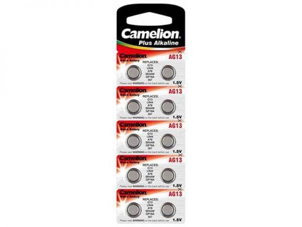 Set 10 baterii AG13 Camelion Plus Alkaline