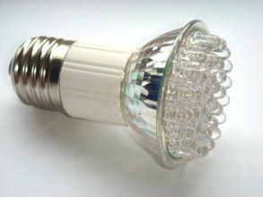 Bec economic cu 38 LED-uri