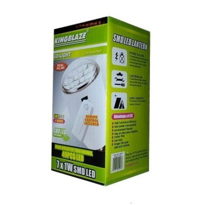 Bec cu led-uri SMD si telecomanda GD-5007HP
