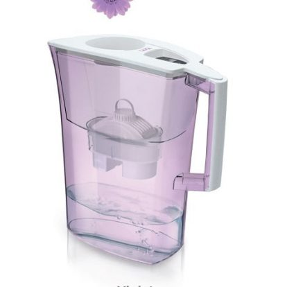 Cana filtranta de apa Laica Spring Violet