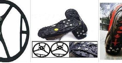 Cauciuc anitiderapant pentru pantofi cu 5 crampoane