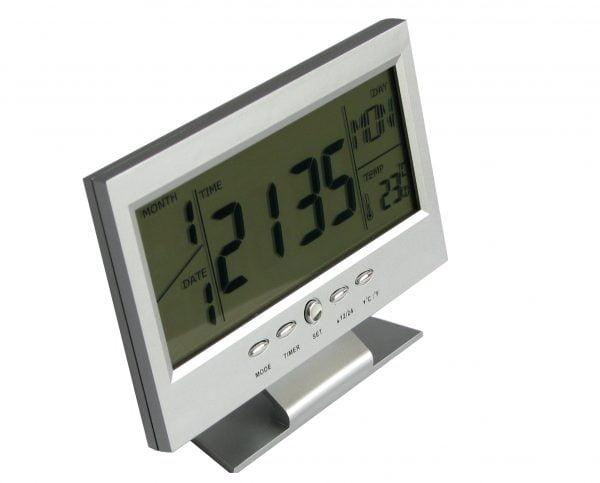 Ceas LCD cu termometru