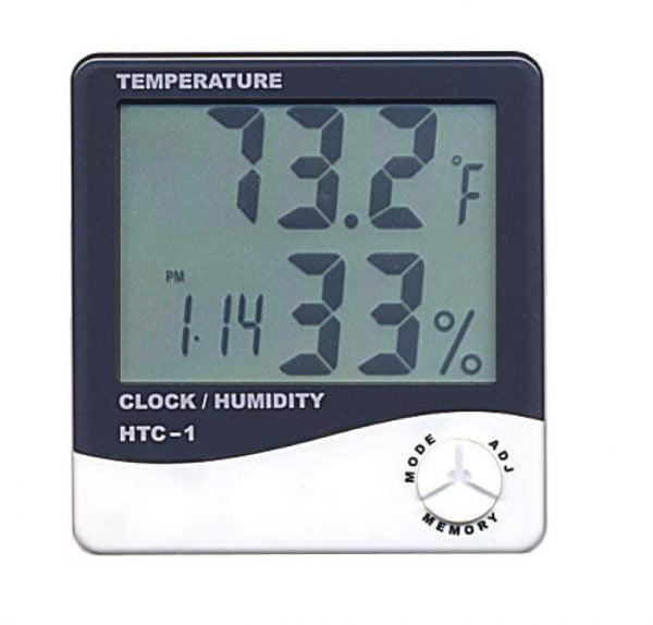 Ceas cu termometru si higrometru