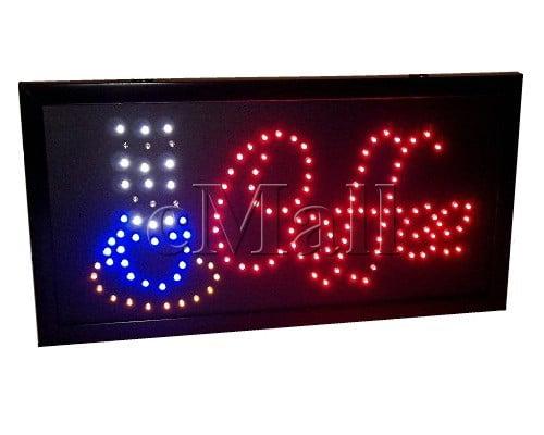 Panou luminos cu LED-uri - Coffee