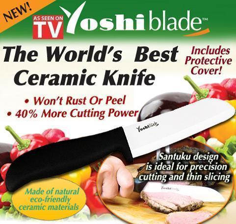 Cutit ceramic Yoshi Blade + curatator legume
