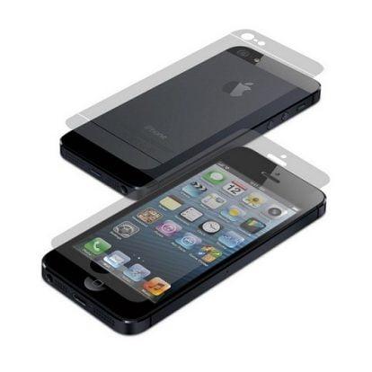 Folie protectie ecran + spate iPhone 5