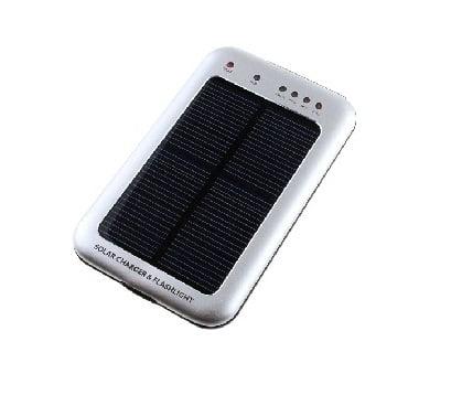 Incarcator solar cu lanterna