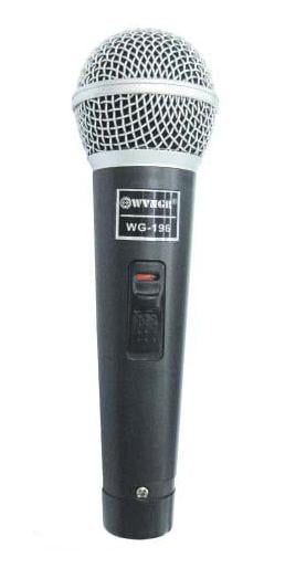 Microfon profesional cu fir WG-196