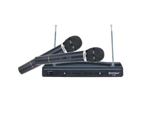 Set microfoane wireless C-05