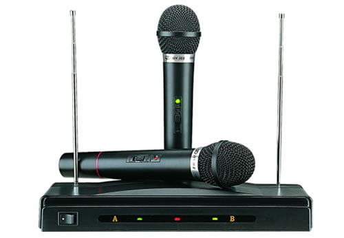 Set microfoane wireless AT-306