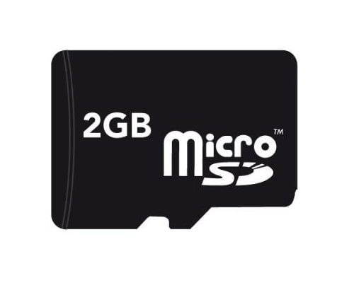Card microSD 2 Gb + adaptor SD