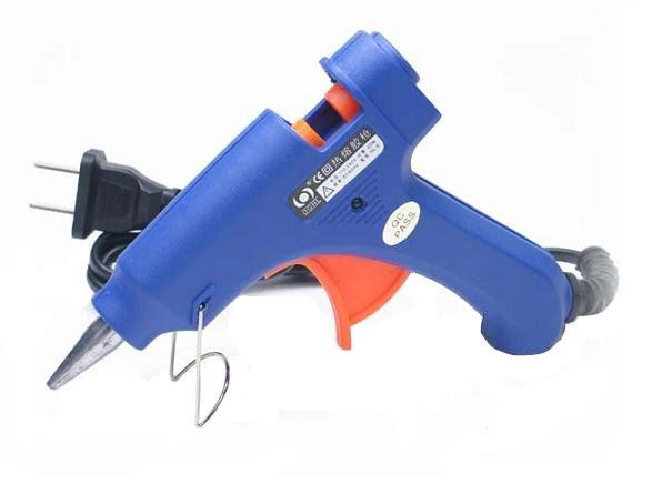 Pistol de lipit cu silicon HL-E20 + 5 rezerve