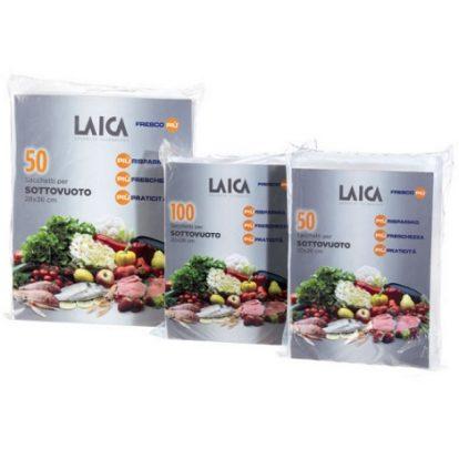Pungi pentru vidare alimente - 28x36 cm Laica VT3500