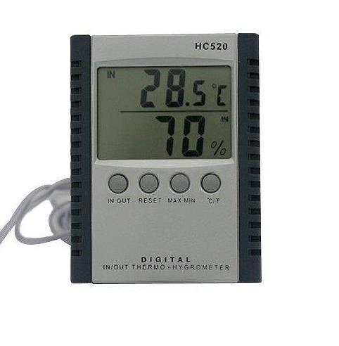 Termometru de interior si exterior cu higrometru digital
