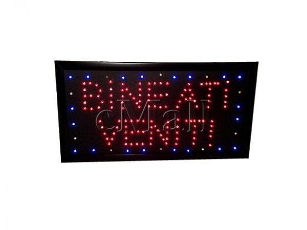 Panou luminos cu LED-uri - Bine ati venit!