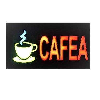 Reclama led cafea